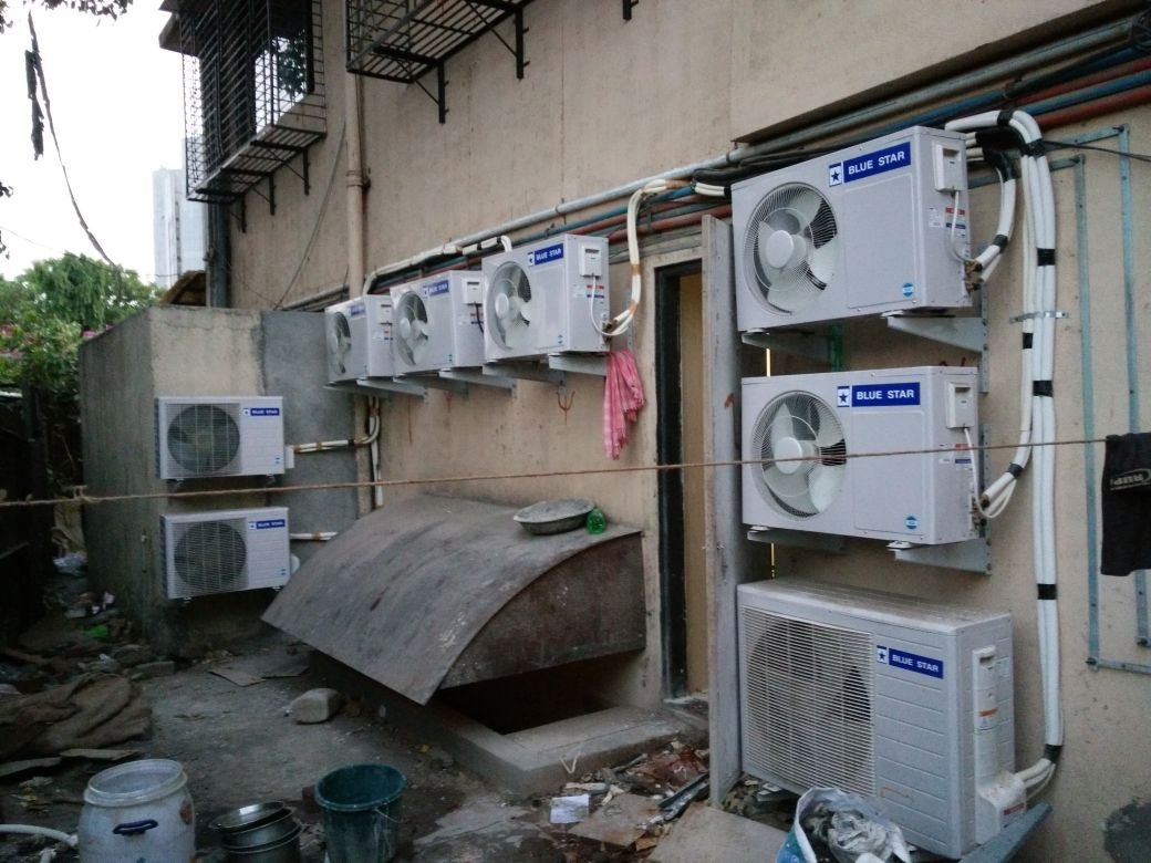 bank ac installation